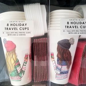 "Graphique 16 Travel Cups ""Melsy's Illustrations"""